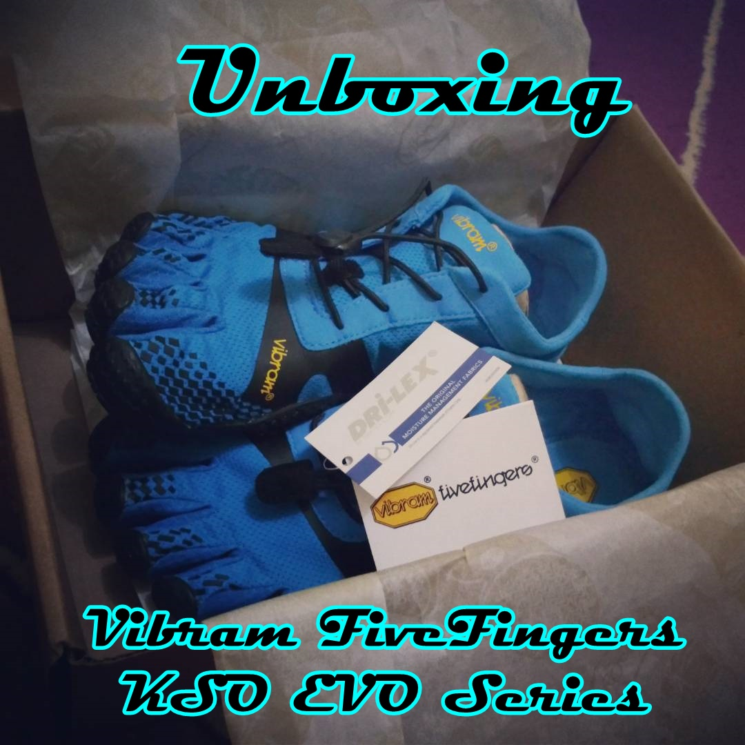 unboxing vibram five fingers