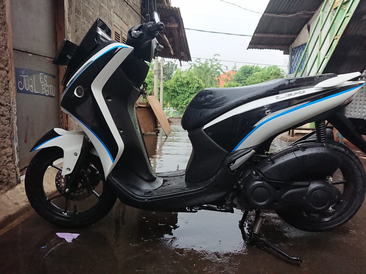 Modifikasi yamaha lexi part 2