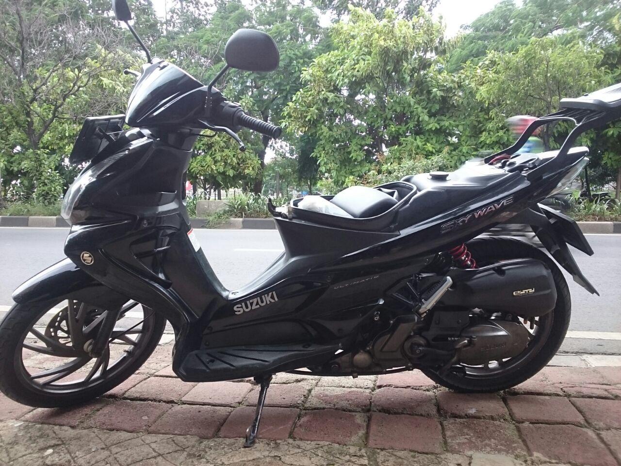 Suzuki Skywave Tambal Jok