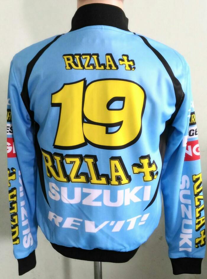 jaket suzuki Rizla Custom 2